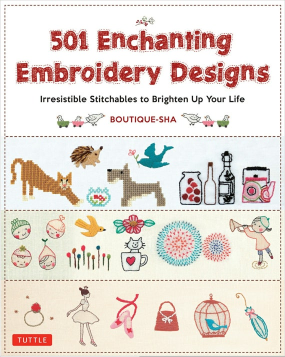 Embroidery Designs Ebook