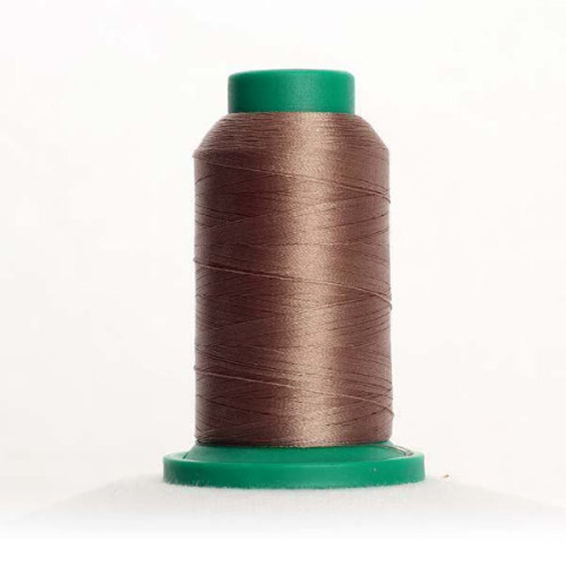 Decorative Stitching 1000m mini-king spool Isacord Thread KHAKI 0722 for Embroidery Quilting