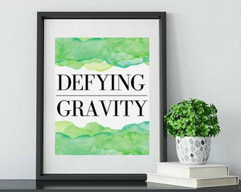Wicked Defying Gravity Broadway Quote
