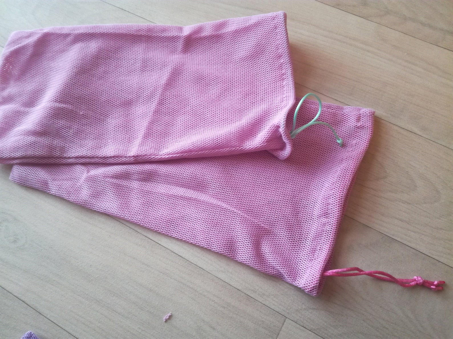 handmade pouch for ballet shoe, fabric breathable