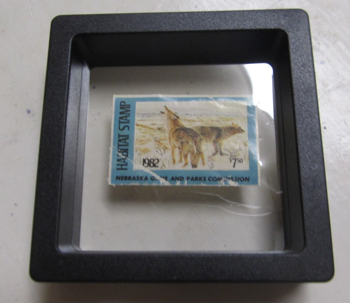 1982 Nebrska Games And Parks Commission Habitat Stamp NRH 6