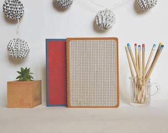 Notebook - Notebook - red/gray