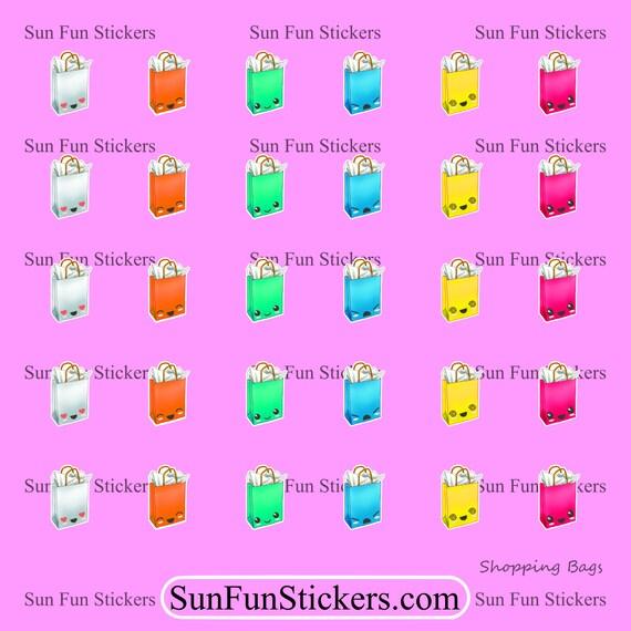 GIFT BAG STICKERS Birthday Gift Bags Sticker Return