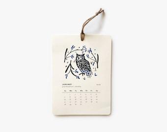 Birds & Flora 2018 Calendar