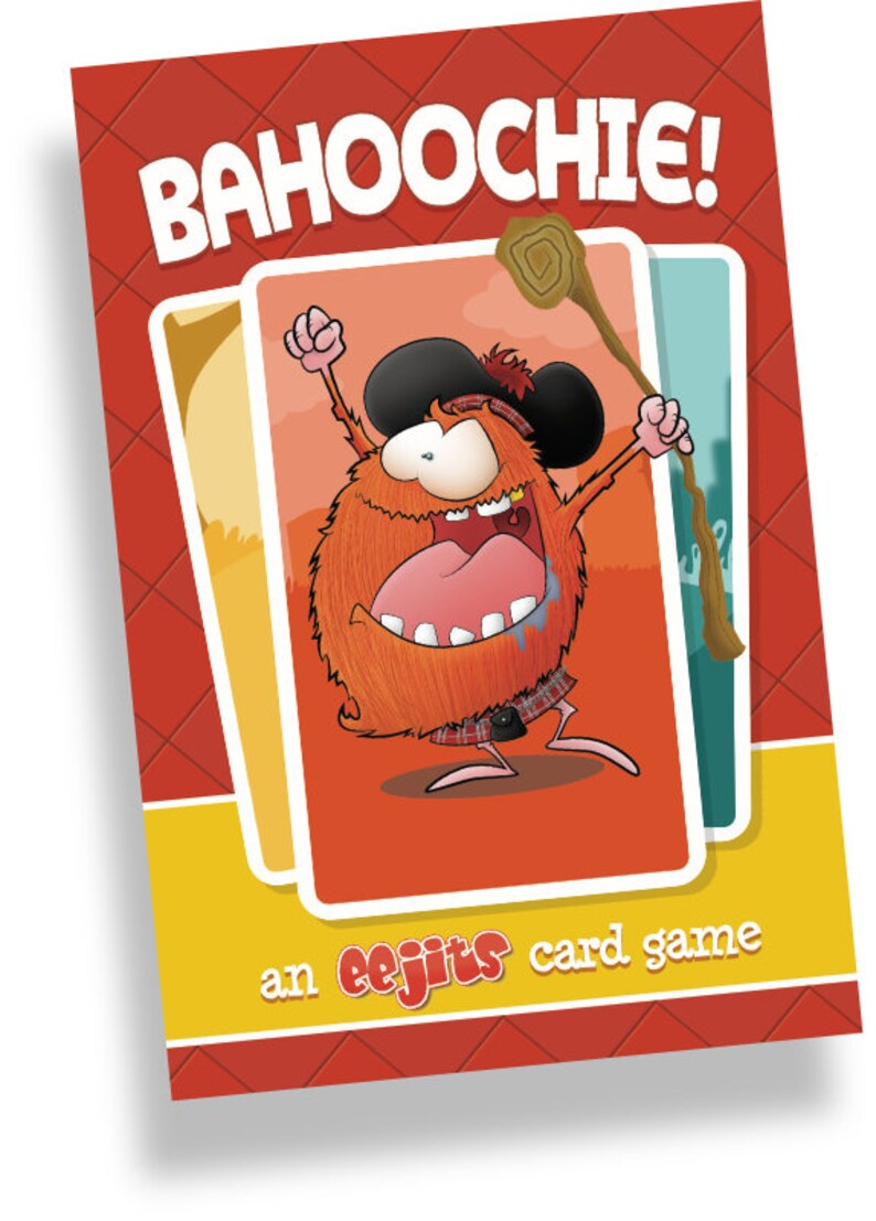 BAHOOCHIE an eejits card game image 0