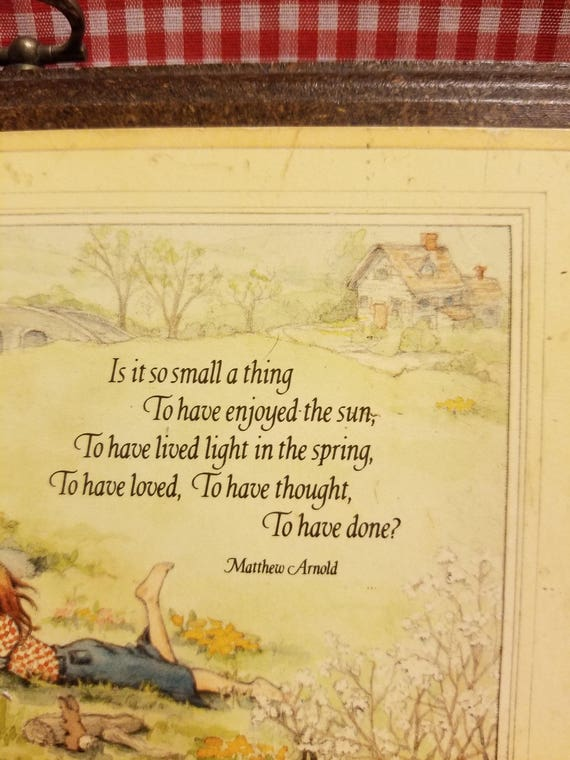 is it so small a thing poem
