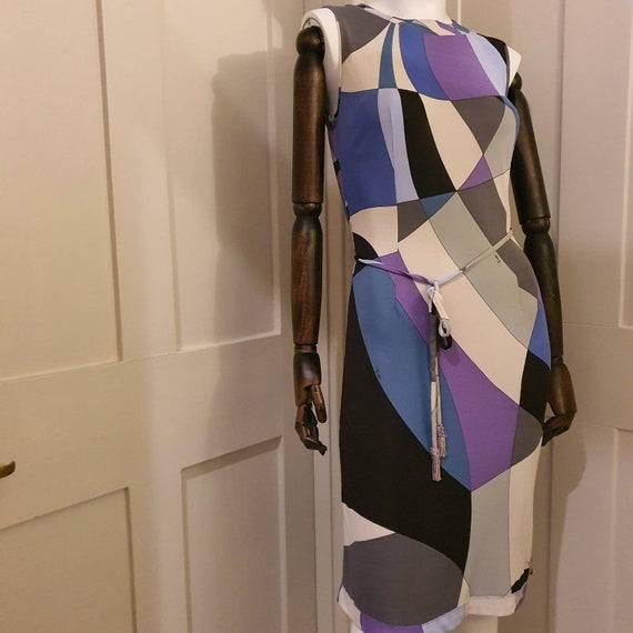 Pucci print dress abstract geometric print