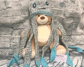 Novelty Octopus Scarf, Octopus Scarf, Childs Gift