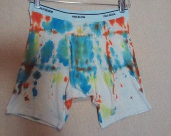 Tie Dye Mens Underwear