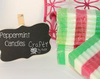 Peppermint Candies - Fancy Sudz - Artisan Soap
