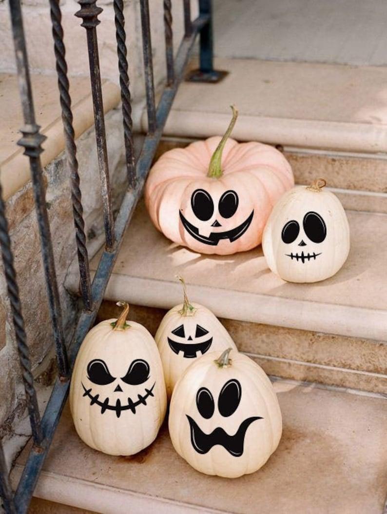 Pumpkin decalsHalloween pumpkin stikers Happy Halloween image 0