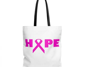Hope Breast Cancer Tote