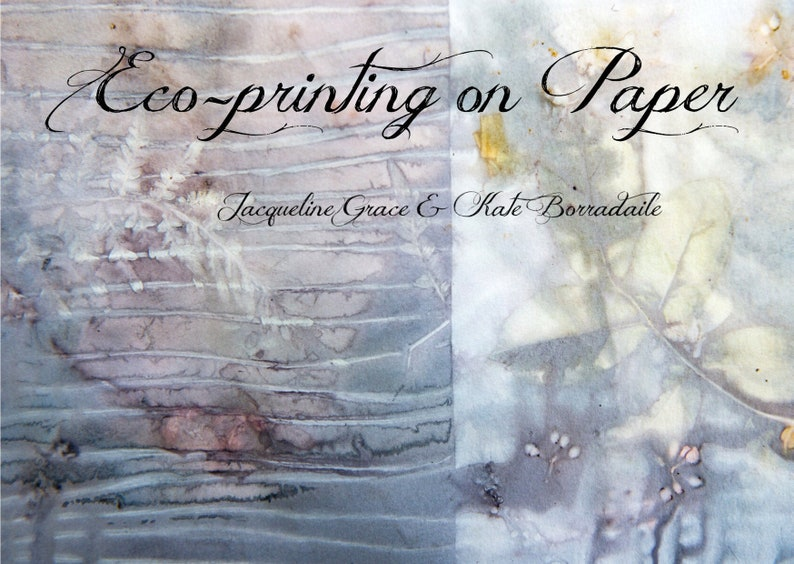 Eco-printing on Paper image 0