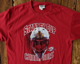 Vintage 1996 Lee Sports NHL Colorado Avalanche Stanley Cup Champion Tee -  2XL 04e369b4b