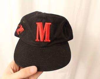 Vintage 90s Embroidered Marlboro Hat - OS