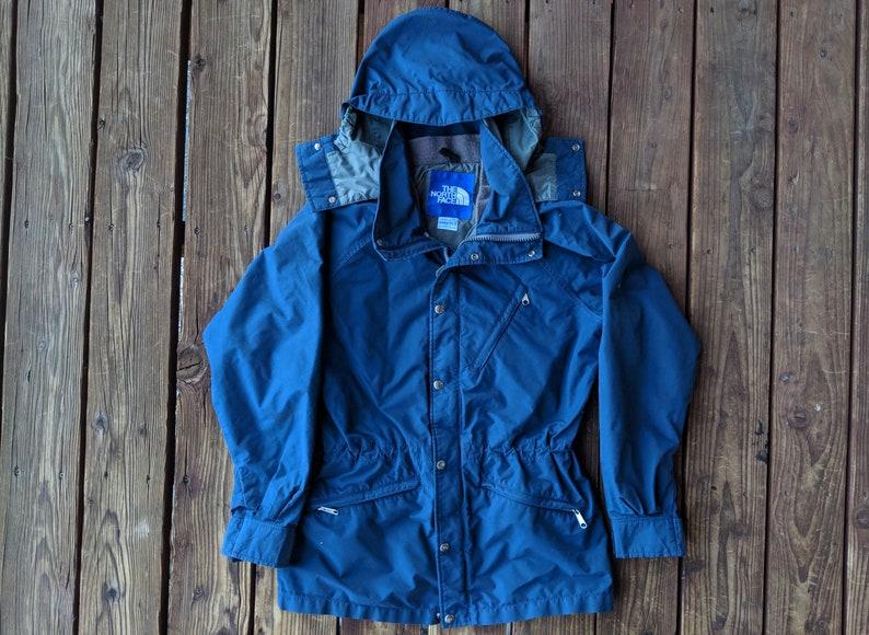 319e6d238 Vintage 80s The North Face x Goretex Ski Jacket w/ Hood - M