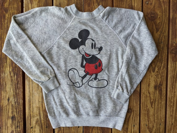 Vintage 80s Super Soft Very Thin Disney / Mickey M