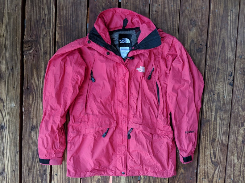 baa85fe59 Vintage The North Face Hyvent Shell w/ Hood - Women's M