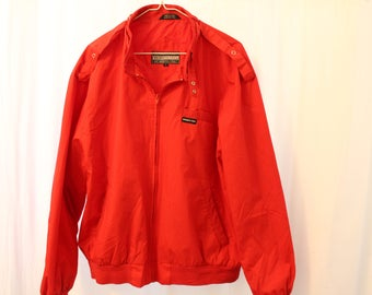 Vintage 90s Oxblood Red Members Only Jacket - L