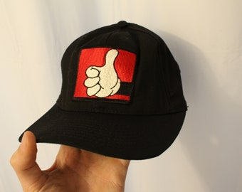 Vintage 90s Mickey Thumbs Up Snapback / Dad Hat - OS