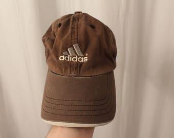 Vintage 80s / 90s Adidas Strapback / Dad Hat - OS