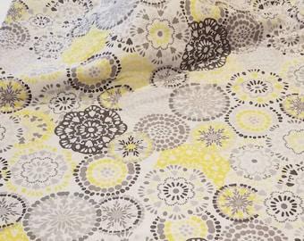 Yellow Paisley Baby Blanket