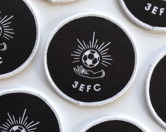 3EFC Woven Iron-On Patch