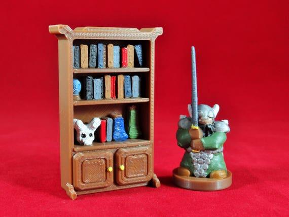 28mm étagère | Wargame | DND Prop | Prop miniature | DND | Terrain DND | Terrain de Wargame | Jeux de table | Assistant plateau | Donjons et Dragons | DandD | 28mm