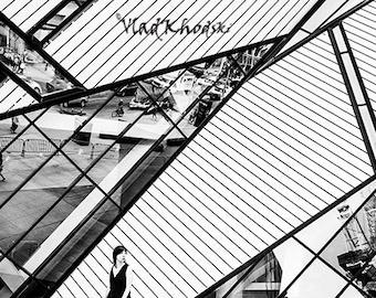 Fine Art Photography Toronto, Black and white photo wall art, Architecture wall art print, Black and White Photograhy Home decor