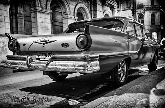 Old Ford in Old Havana antique car vintage car cuba fine | Etsy