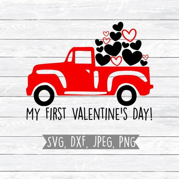First Valentine S Day Boy Valentine Svg Dxf Svg Files Etsy