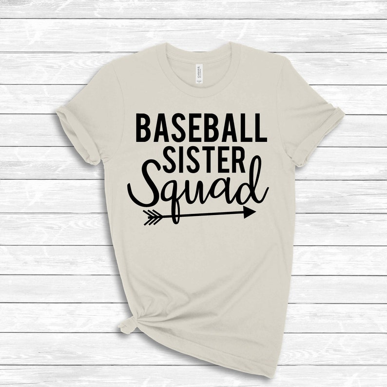Cut Files Cricut Baseball Family Baseball Squad PNG SVG DXF files for Iron on Silhouette Baseball Sister Sister Shirt Baseball Svg
