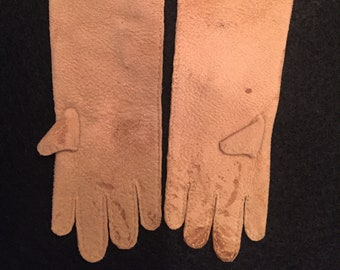Suede Doll Gloves