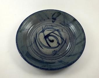 Blue Spiral Bowl 2
