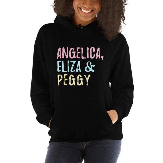 ...And Peggy Hamilton Eliza Schuyler Musical Broadway Jumper Unisex Sweater