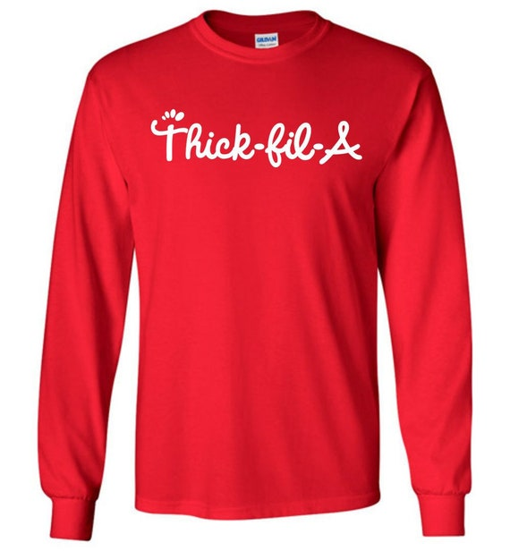 Perfect for Foodies and Fast Food Fans Thick-Fil-A Shirt in Soft Unisex T-Shirt Fits Men and Women and Plus Size