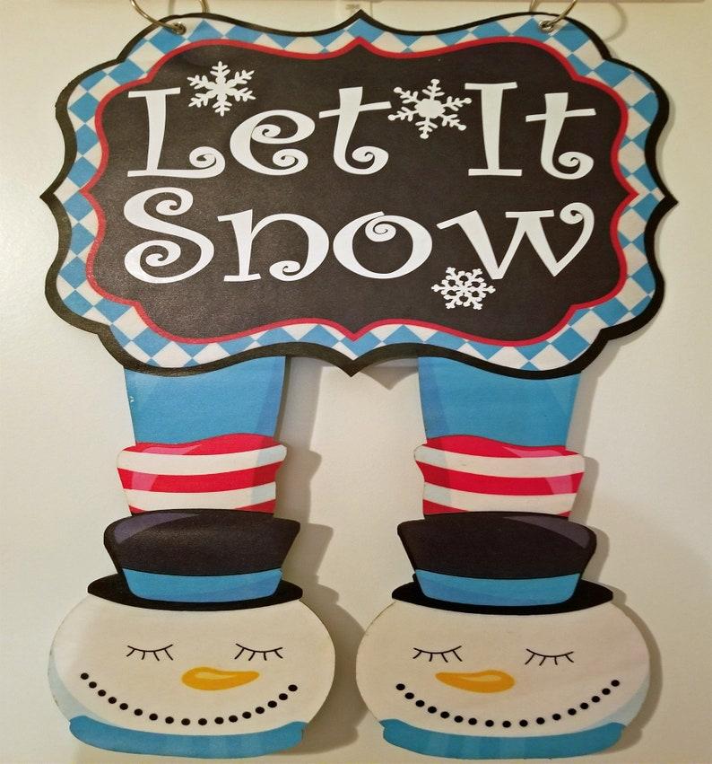 Elf Garden Flag Snowman Mrs. Claus or Santa Garden Flag image 0