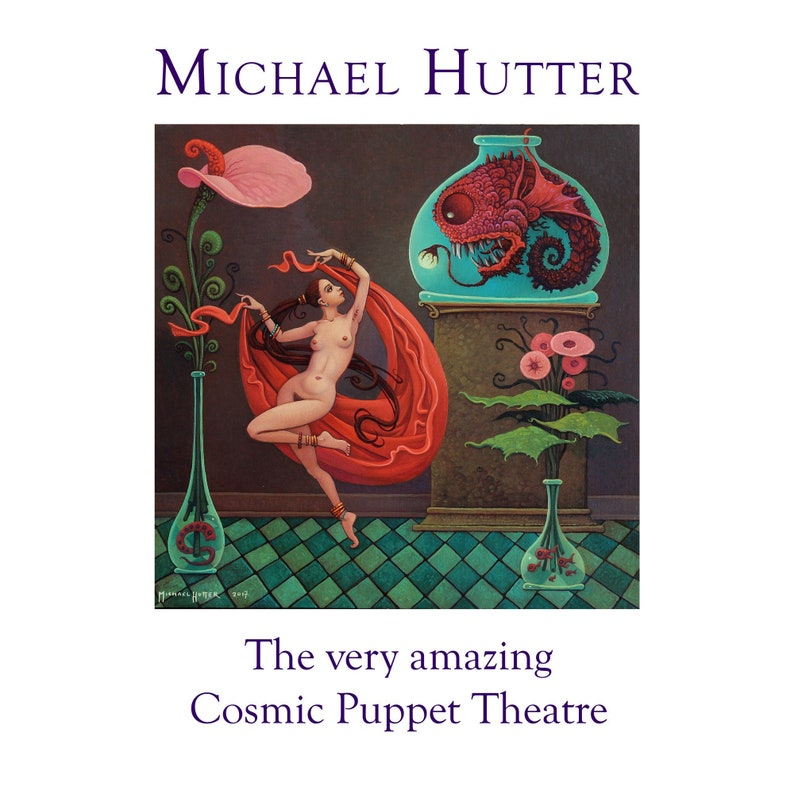 The very amazing Cosmic Puppet Theatre  dreams and image 0