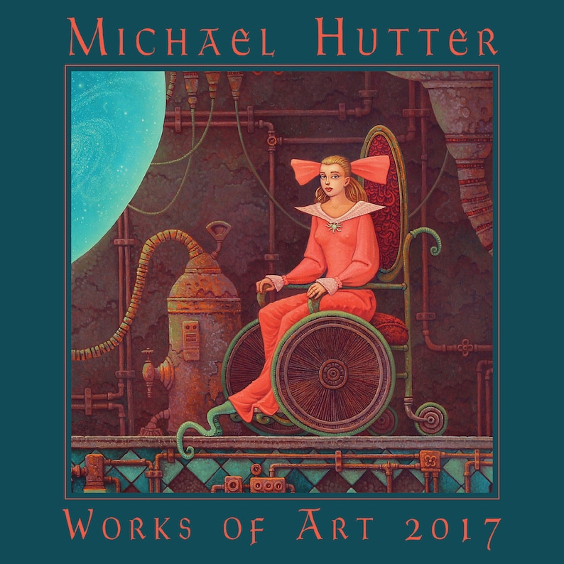 Works of Art 2017  Dark erotic surrealism by Michael Hutter image 0