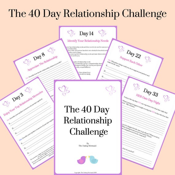 What is 40 days of dating paper