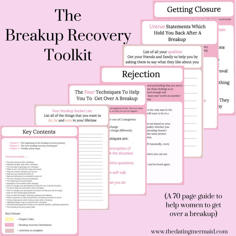 The Breakup Recovery Toolkit & The 28 Day Breakup Recovery Challenge