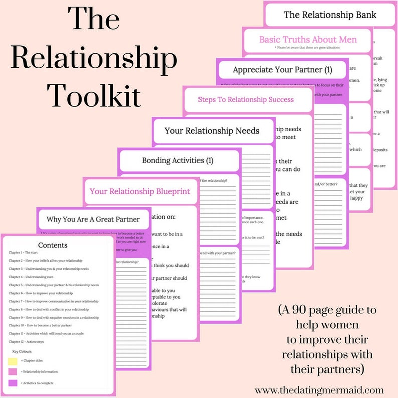 The Relationship Toolkit & The 40 Day Relationship Challenge image 0