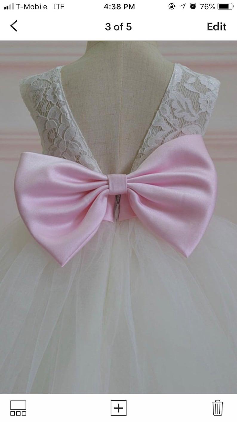 sash and bows