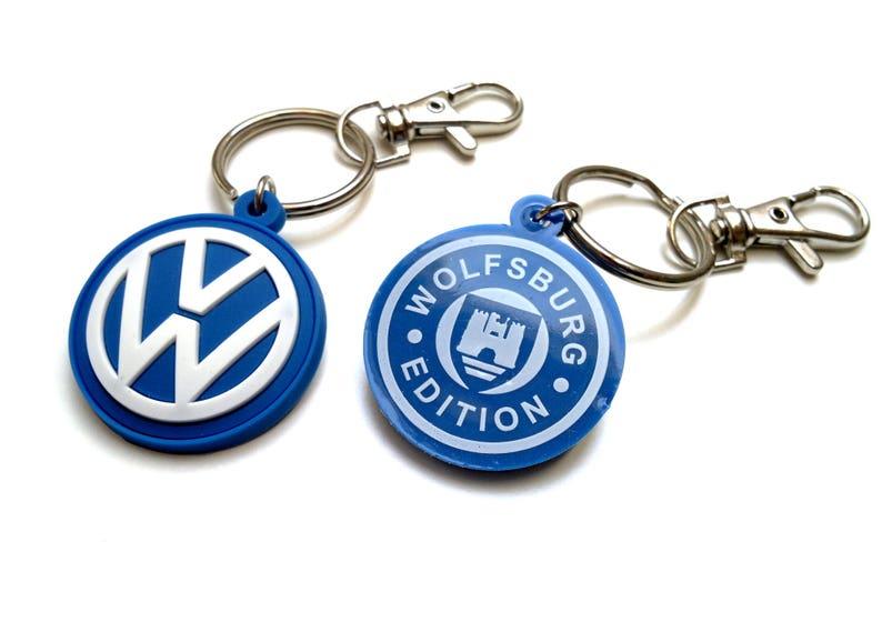 VW Beetle keychain Bus Golf GTI mk6 mk7 rubber key ring VR6  ccd8ee34a77d