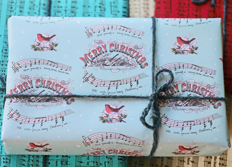 warm cream colour matt finish 100 gsm A3 size Music Wrapping Paper