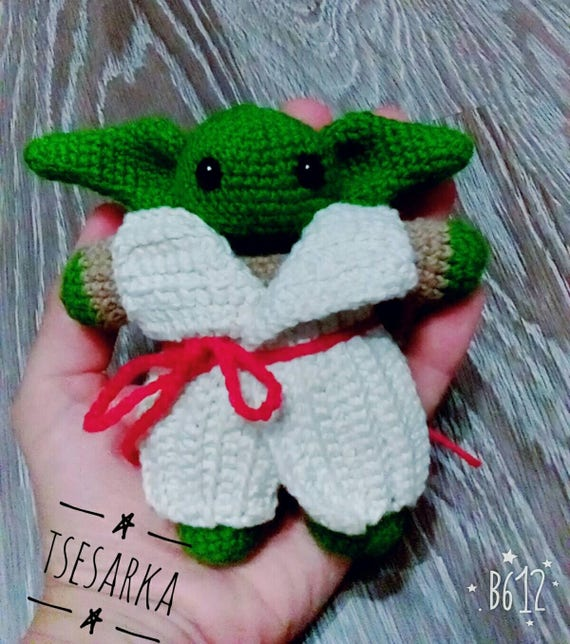 Häkeln Sie Yoda Spielzeug Amigurumi Häkeln Sie Meister Yoda Etsy