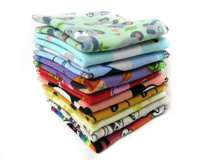 Reusable baby wipes  Family cloth napkins  Cloth diapers  image 0