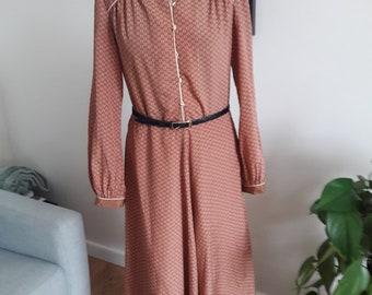 a3888c5ff6c Long sleeved mandarin collar shirt dress