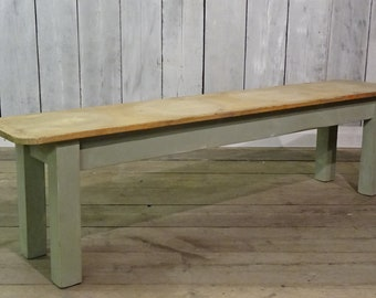 Rustic Bespoke Hand Crafted To Order Reclaimed Pine Or Oak Benches Seating