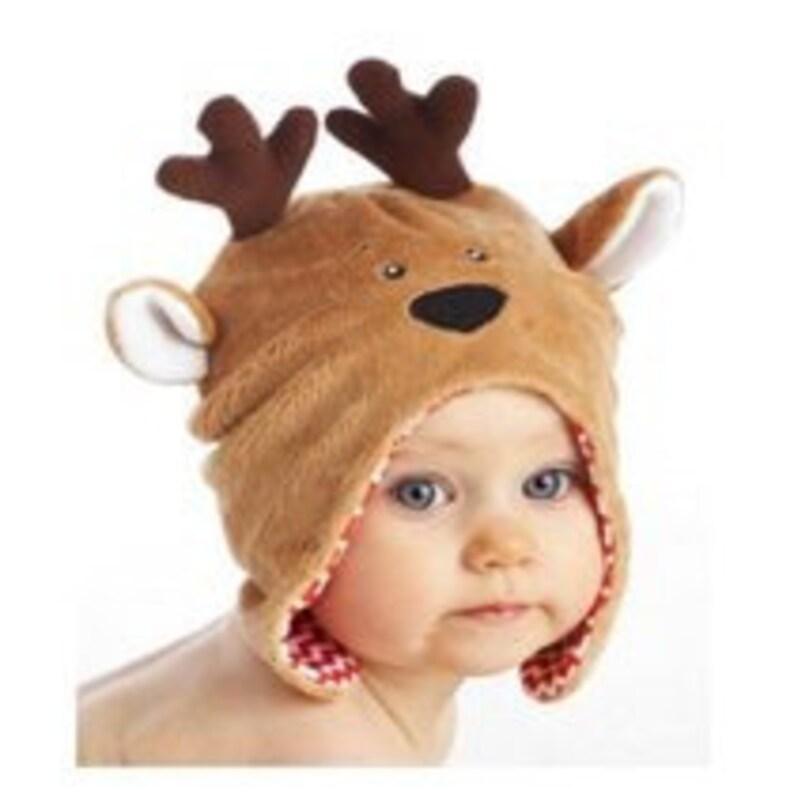 Christmas beanie baby beanie